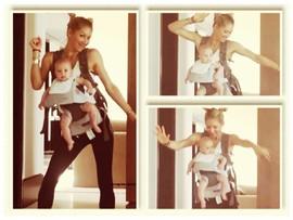 Видео дня: Анна Курникова танцует с маленькой дочкой