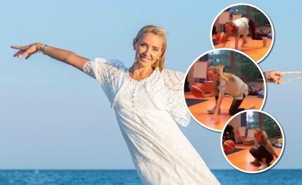 Видео: Татьяна Навка показала новые упражнения для похудения
