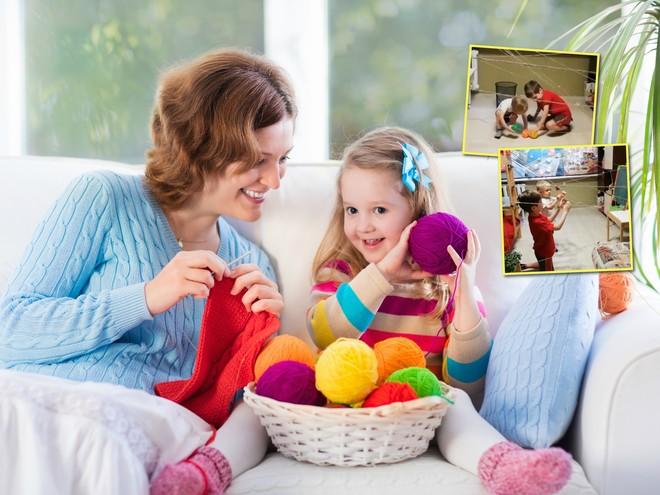 Играйте дома: необычные подвижные детские игры с… нитками