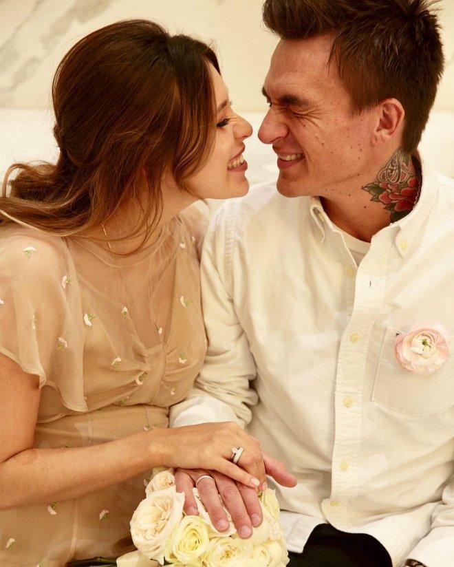 Влад Топалов и Регина Тодоренко поженились