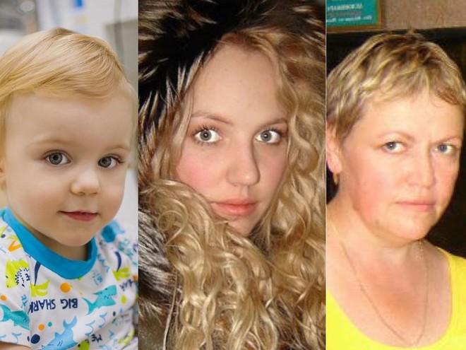 Один в один: сын Галины Боб растёт копией мамы и бабушки