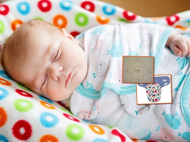 Инструкция: как сшить ребенку пеленку на липучке