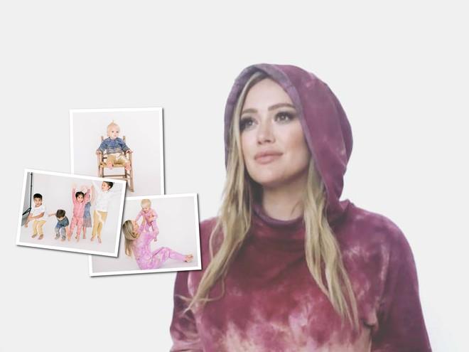 Перед родами: Хилари Дафф выпустила детскую коллекцию одежды