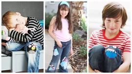 30 идей: как превратить дырку на детских джинсах в модный элемент