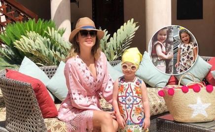 Дочь Ксении Бородиной очень похожа на маму в том же возрасте