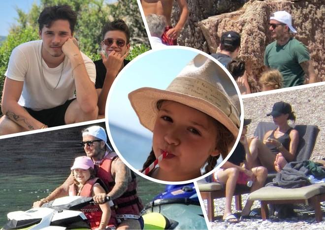 Все вместе: семейный отдых Бекхэмов в Хорватии