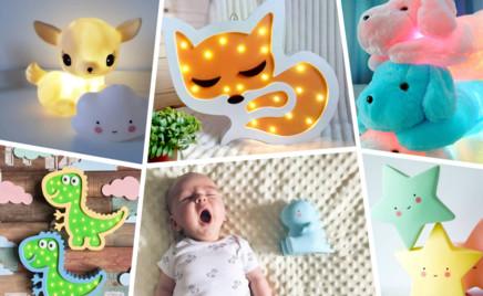 Фея, облачко, котенок и еще 18 идей для ночника-игрушки в детскую