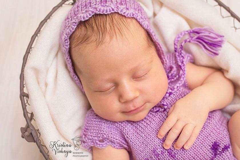 Фотосессия новорождённых Краснодар