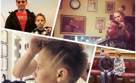 Весь в отца: Иван Охлобыстин показал новую стрижку сына