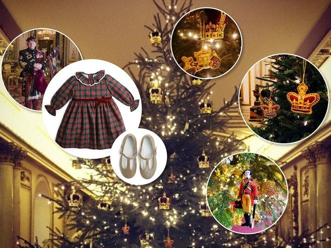 Рождественское платье принцессы Шарлотты