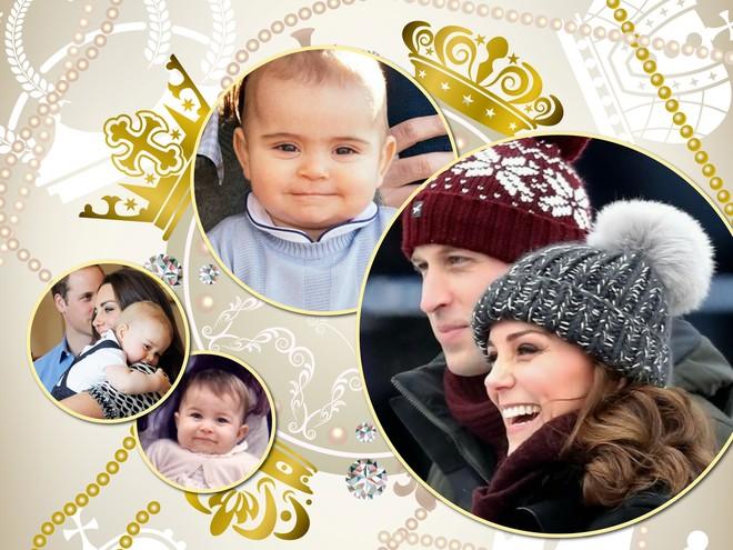 Два сыночка и лапочка-дочка: дети Кейт Миддлтон невероятно похожи друг на друга