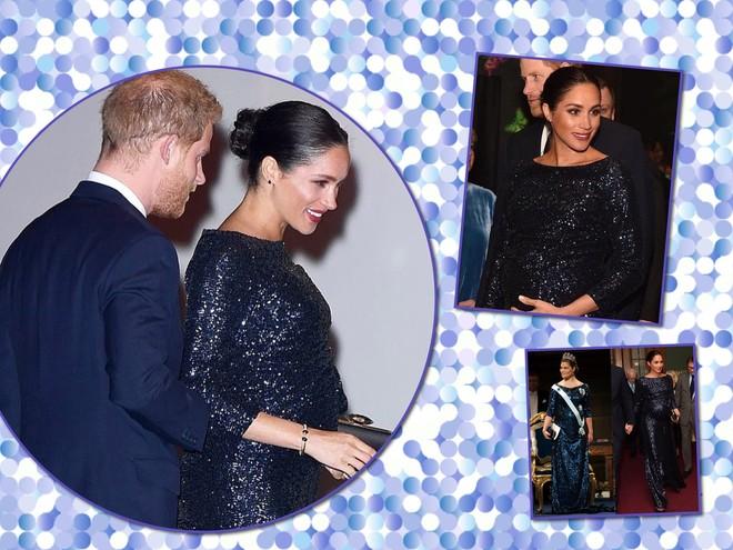 Модный повтор: беременная Меган Маркл скопировала образ принцессы Швеции