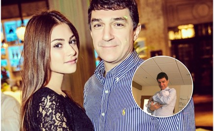 Сын Александра Овечкина и Анастасии Шубской познакомился с дедушкой