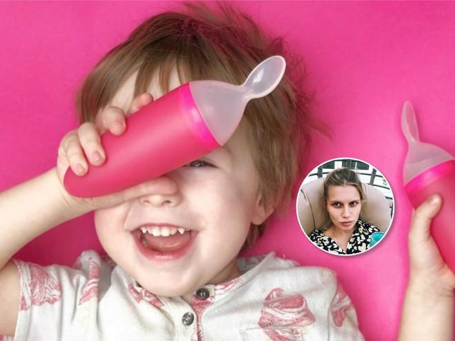 Лайфхак от Дарьи Мельниковой: как мыть посуду, если рядом активный ребенок