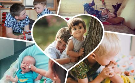 По-братски: 30 фото, подтверждающих, что любовь побеждает детскую ревность