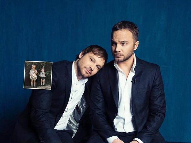 Молодые и дерзкие: Андрей Чадов поделился детской фотографией с братом