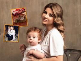Мама Галины Юдашкиной показала детскую комнату внуков