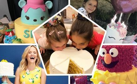 Красиво и вкусно: какие торты едят дети звезд