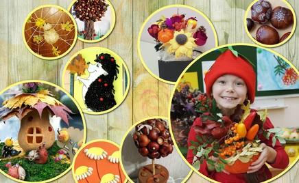 Мастерите вместе с детьми: 24 идеи для поделок из даров природы