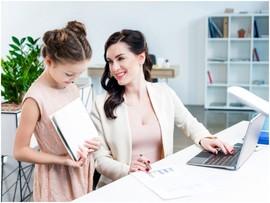 Деловая мама: как совместить семью и работу