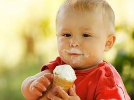 Первое мороженое...
