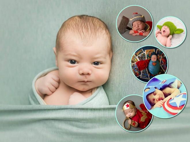 Спасаем мир: 25 фотографий младенцев-супергероев