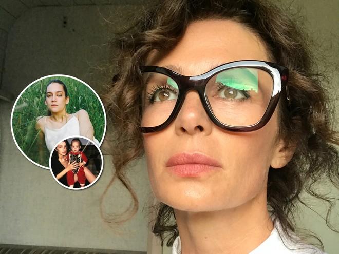 Оксана Фандера поделилась редким фото с маленькой дочкой