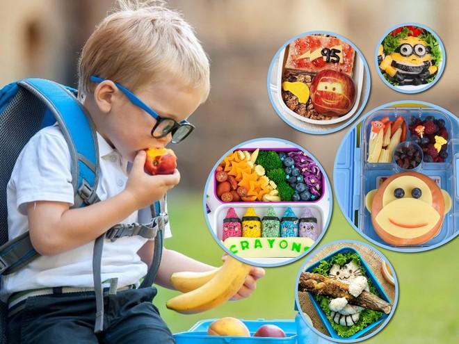 Ланчбоксы: идеи для детского обеда