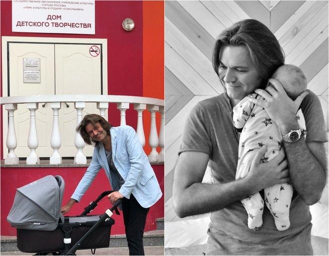 Дмитрий Маликов с младшим сыном Марком