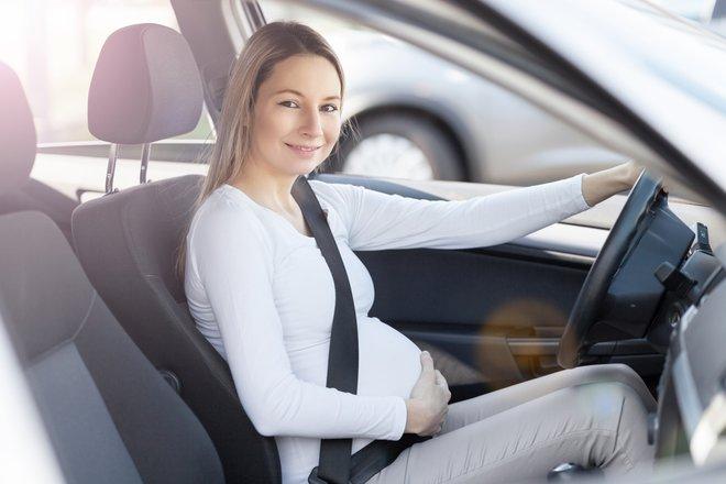 Вождение авто при беременности