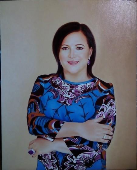 Ну вот и мой первый портрет спустя 2 года лени)))
