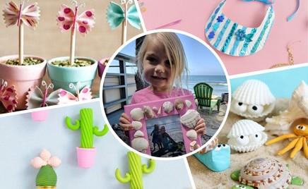 Лето своими руками: идеи детских поделок из Инстаграма