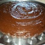 Супер шокаладный постный кекс/торт