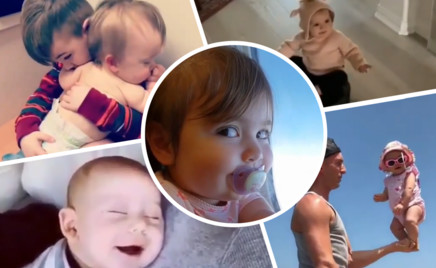 18 видео с малышами, которые у всех вызовут улыбку