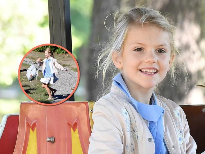 Все просто: с каким ранцем ходит в школу внучка короля Швеции