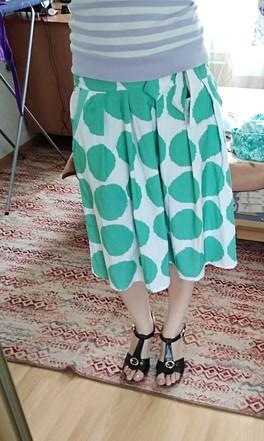 Как называется фасон юбки и с чем её носить?