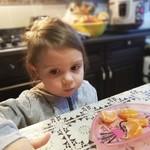 Детский день рождения, 3 года доче