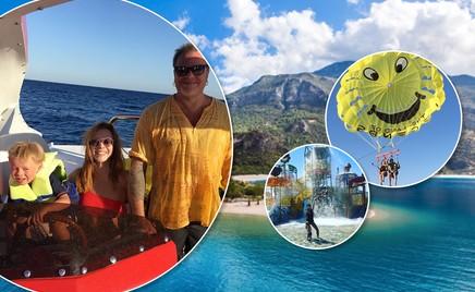 Море-море: турецкие каникулы Владимира Преснякова с семьей