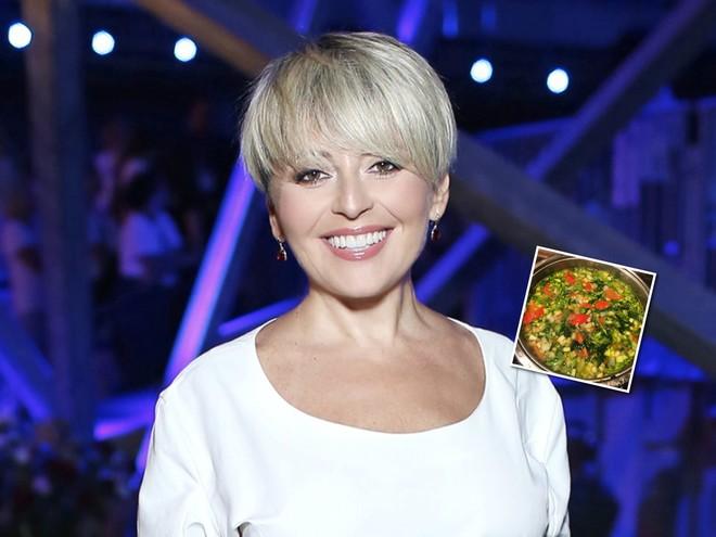 Овощной суп от Анжелики Варум для тех, кто набрал вес на новогодних праздниках