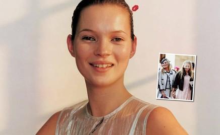 Найдите отличия: дочь Кейт Мосс и ее звездная мама