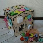 Бизиборд - куб, дом