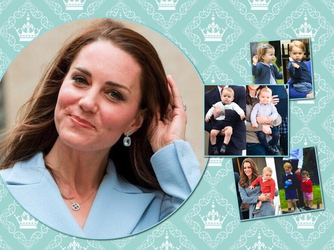 Бережливая мама: дети Кейт Миддлтон донашивают одежду друг за другом