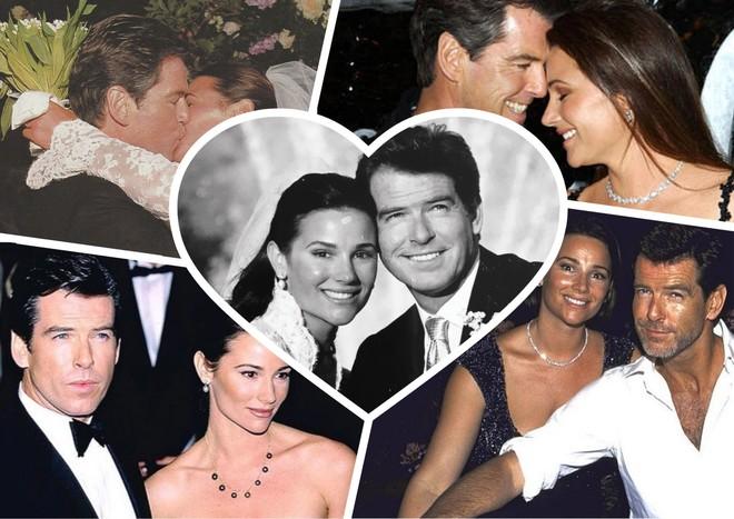 Все так же влюблен: Пирс Броснан с женой отметили 17 лет свадьбы