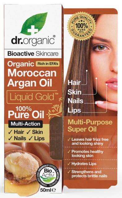 Аргановое масло. доктор Органик