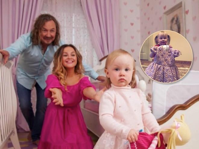3 годика: дочка Игоря Николаева отметила день рождения