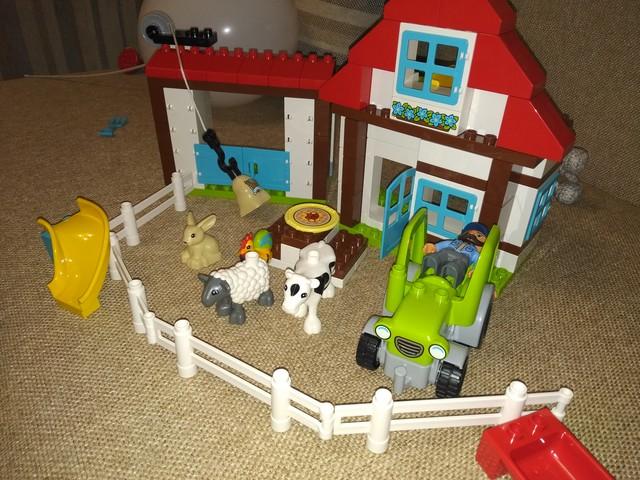 Лего дупло, приключения на ферме.