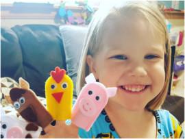 Для вдохновения: пальчиковые игрушки, которые понравятся малышу
