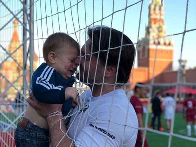Эдгард Запашный с сыном