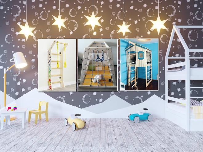 Идеи интерьера: делаем спортивный уголок в детской комнате