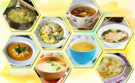 Сырный, фасолевый и еще 7 рецептов осенних супов
